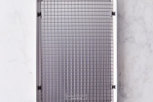 Nordic Ware Half Sheet with Oven-Safe Nonstick Grid