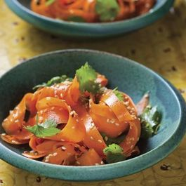 Louisa Shafia's Vinegar Carrots with Toasted Sesame Seeds