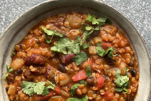 Chetna Makan's Vegetarian Chili