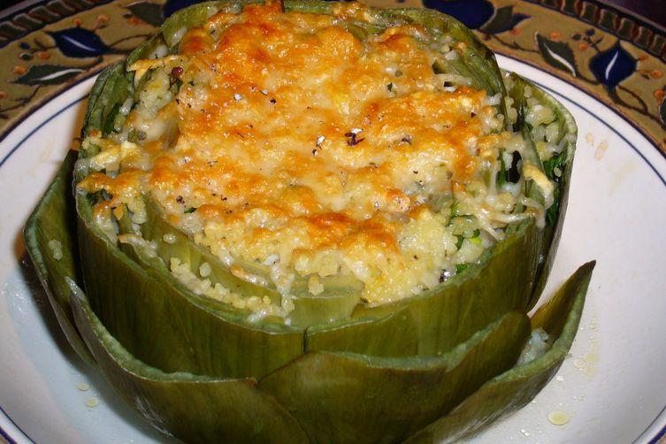 Couscous-stuffed Artichokes