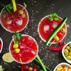 Hickory Smoked Bloody Mary Margarita