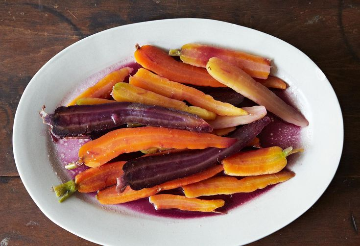 Alice Waters' Colorful Carrots with Butter and Honey