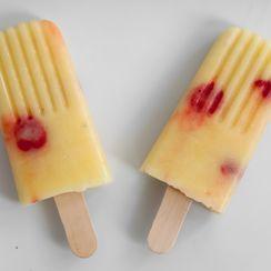 Pina Colada Ice Pops