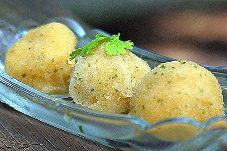 Cantaloupe Cilantro Sorbet