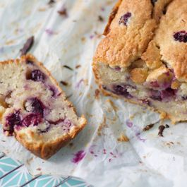 cake blueberry mascarpone by porchapples