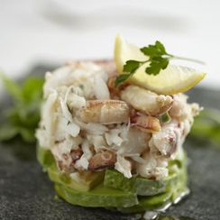 Crab and Avocado Tower