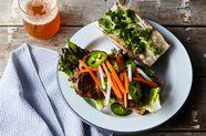 Caramelized Pork Bánh Mì