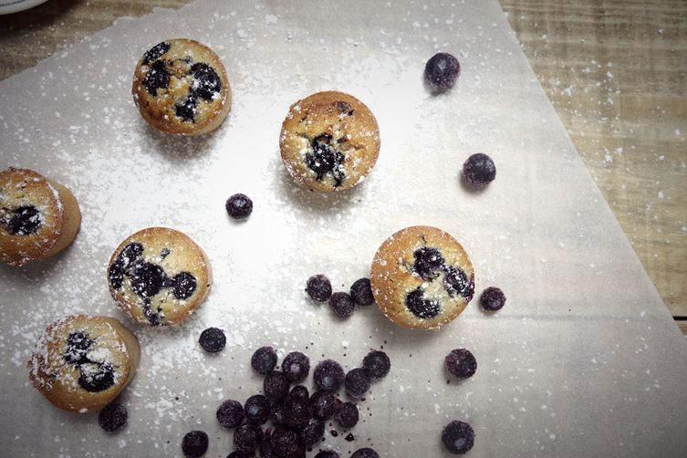 Little Blueberry financiers