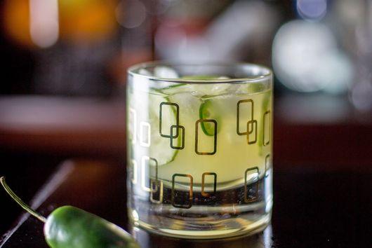 Cucumber-Jalapeno Margarita