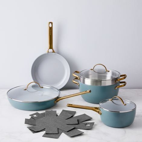 Food52 x GreenPan Nonstick 8-Piece Cookware Set