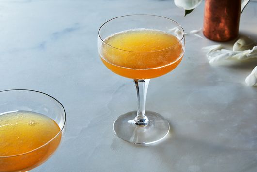Humberto Marques' Scarborough Fair Cocktail with Oxymel