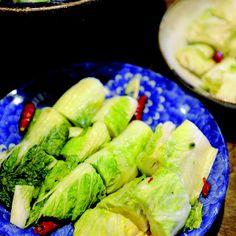 Fermented Napa Cabbage (Hakusai No Tsukemono)