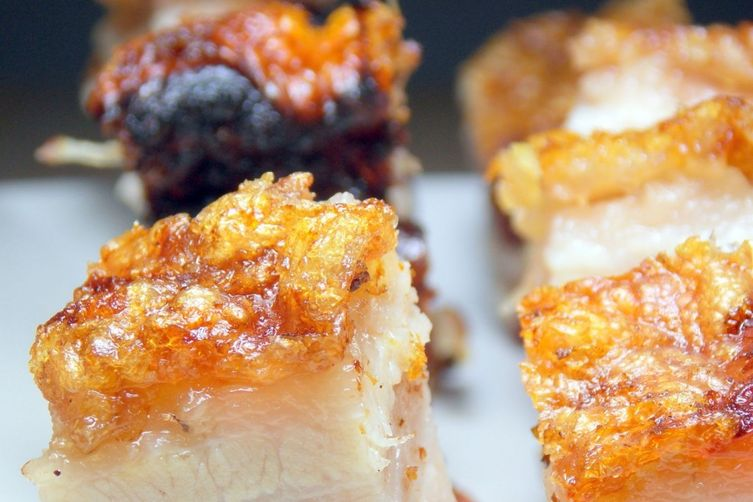 Crispy Roast Pork Belly (Cantonese Style)