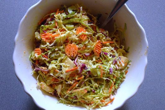Speedy Apple Coleslaw