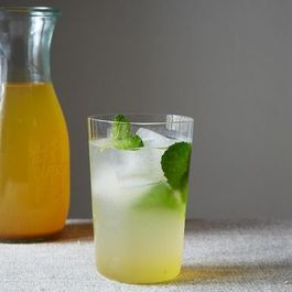 Louisa Shafia Chooses Saffron and Cardamom Lemonade