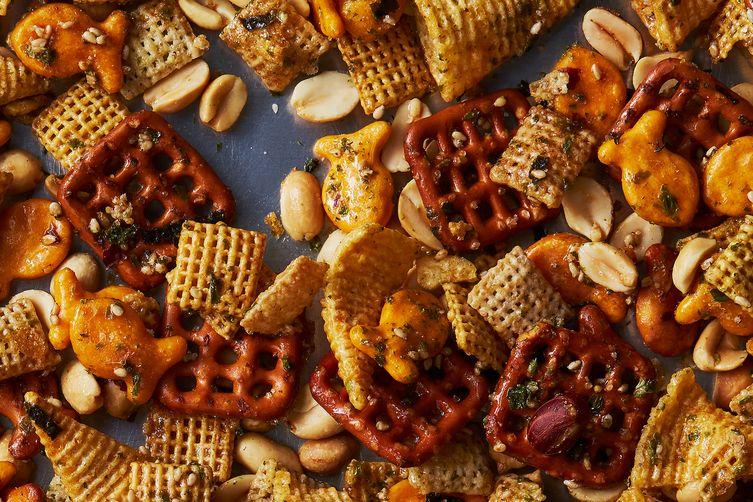 Furikake Chex Mix Snack