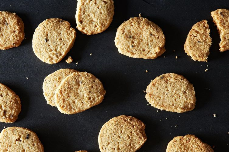 Oatmeal and Lavender Shortbread