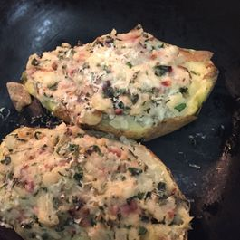 Ultimate Pantry recipe: twice baked potatoes