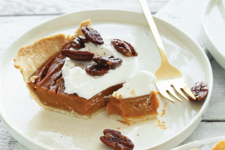 Blender Sweet Potato Pie