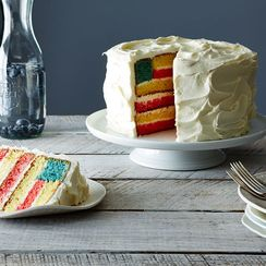 How to Make a Flag Cake for the Fourth of July