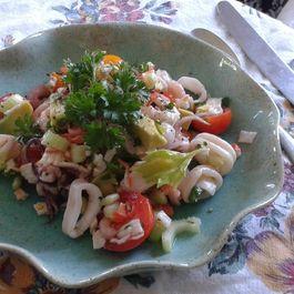 Seafood Salads by Bill