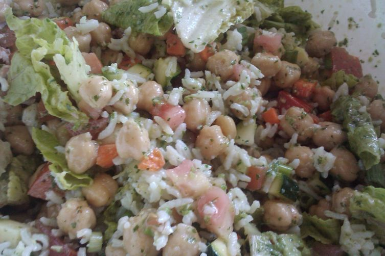 Bright and Fresh Chickpea Salad