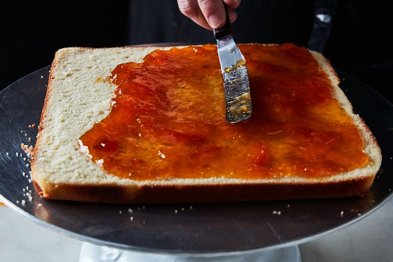 Spread it out thin (so you can eat more jam later...)