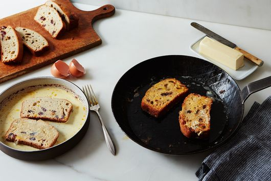 How to Turn Quick Bread into French Toast