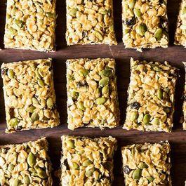5-Minute, No-Bake Granola Bars