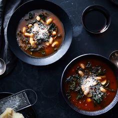 Missy Robbins' Speedy Kale & White Bean Stew