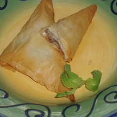 Lamb Phyllo Pockets