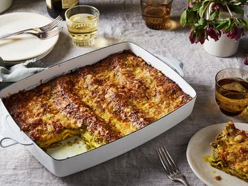 For a No-Fuss Lasagna, Pack it with Rich, Nutty Pesto