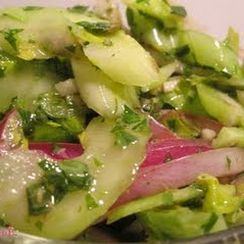 Marinated Celery Salad