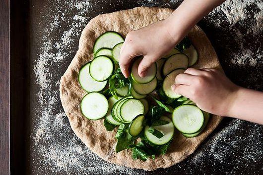 Pizza: the Seasonal, Whole Wheat Version.