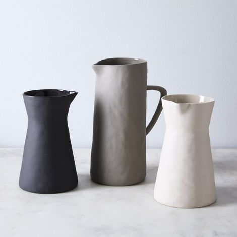Cobbled Stoneware Pitcher