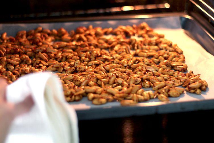The Nonsensical Hot Peppercorn Peanut Brittle