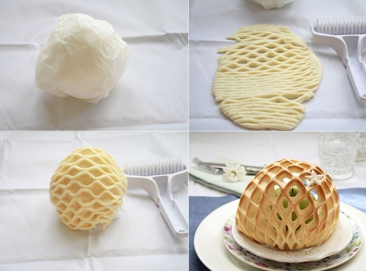 Оформления пирогов или как красиво украсить пироги и тортики 49