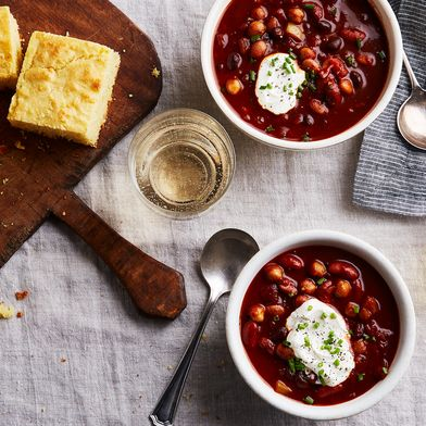Smoky Bean Chili (With Prunes!)