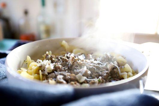 Easy Beef and Mushroom Stroganoff