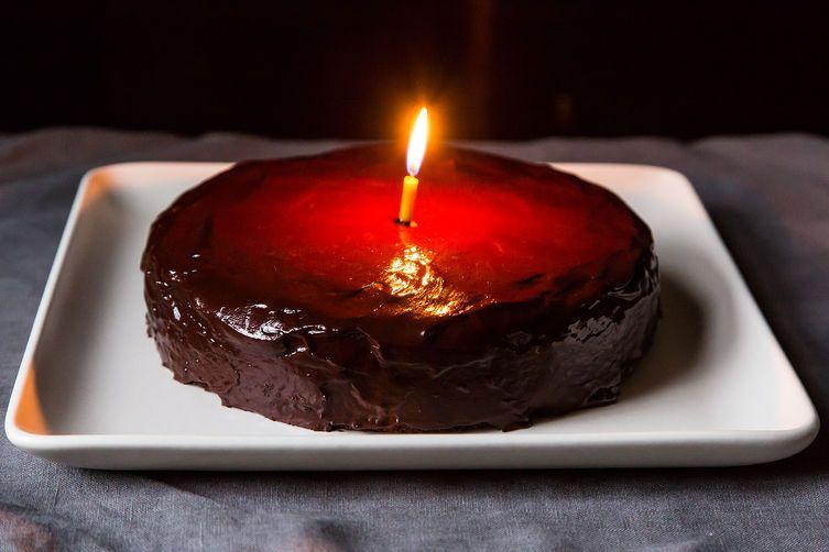 My Chocolate-Orange Birthday Cake