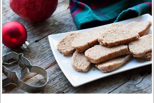 Raw Shortbread Cookies