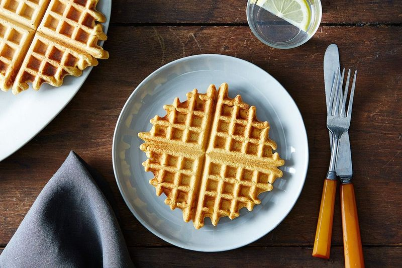 The Best Thing You Can Put in Your Waffle Maker Is Puff Pastry Dough
