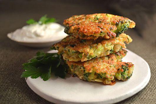 Broccoli Cheddar Jalapeno & Quinoa Fritters