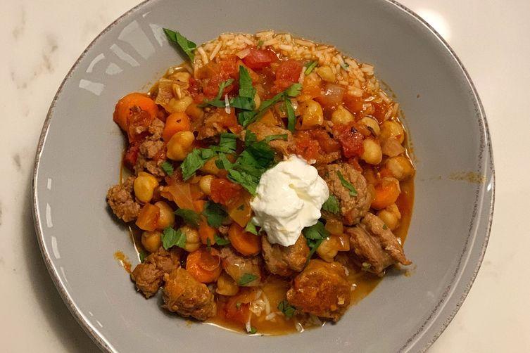 Harissa Lamb Stew