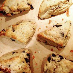 Cookies n' Cream Scones