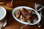 Thai Grilled Chicken with Hot and Sweet Dipping Sauce