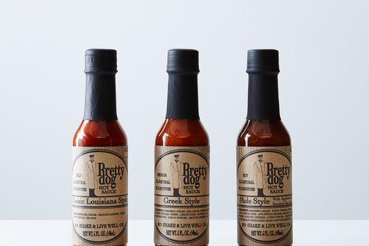 Louisana, Greek & Mole Hot Sauce Trio