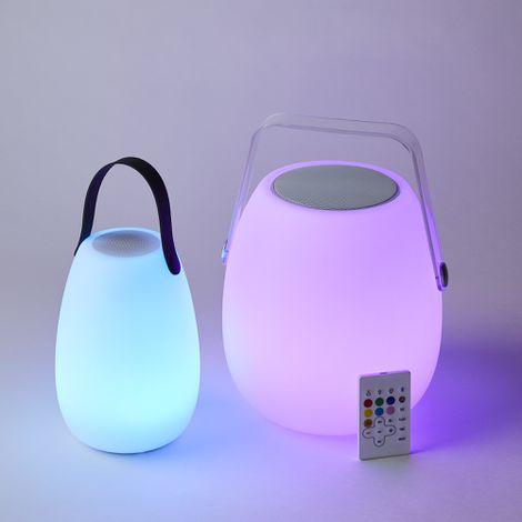 Portable LED Speaker Lantern