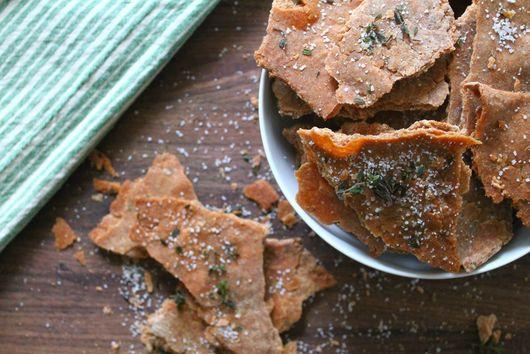 Olive Oil, Thyme & Sea Salt Crackers