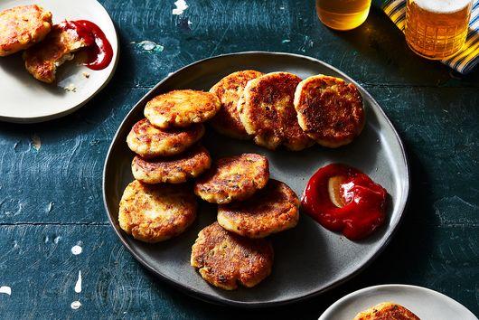Aunty Meera's Aloo Tikki (Potato Cakes)